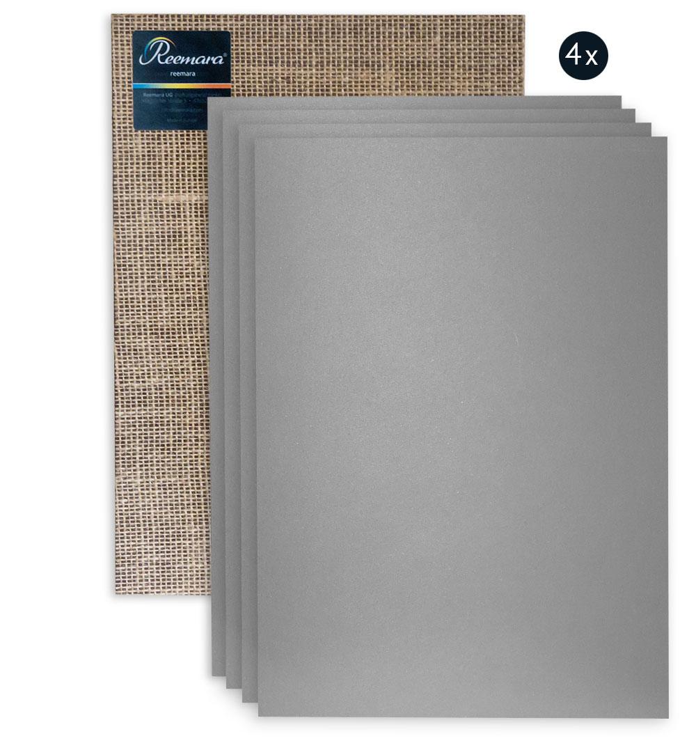 Reemara 4er Pack Linolplatte A4