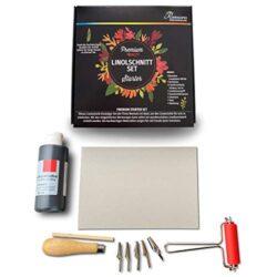 Reemara-Premium-Linolschnitt Set